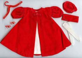 Barbie Red Flame Outfit