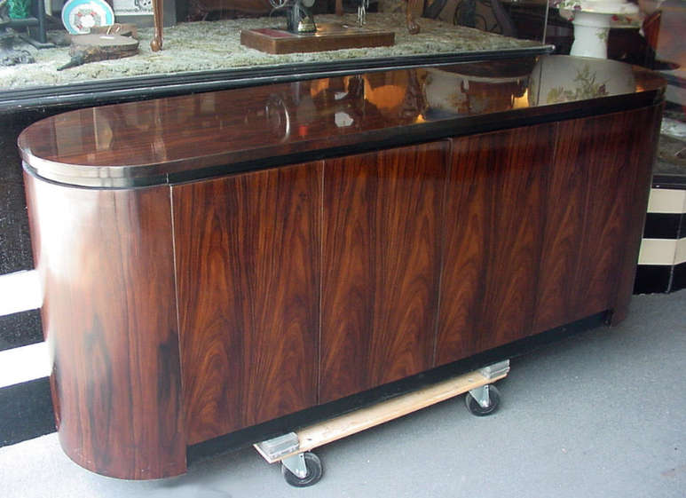Thomasville Rosewood Buffet. 20th Century Modern Design Seating by Eames  Knoll  Wegner