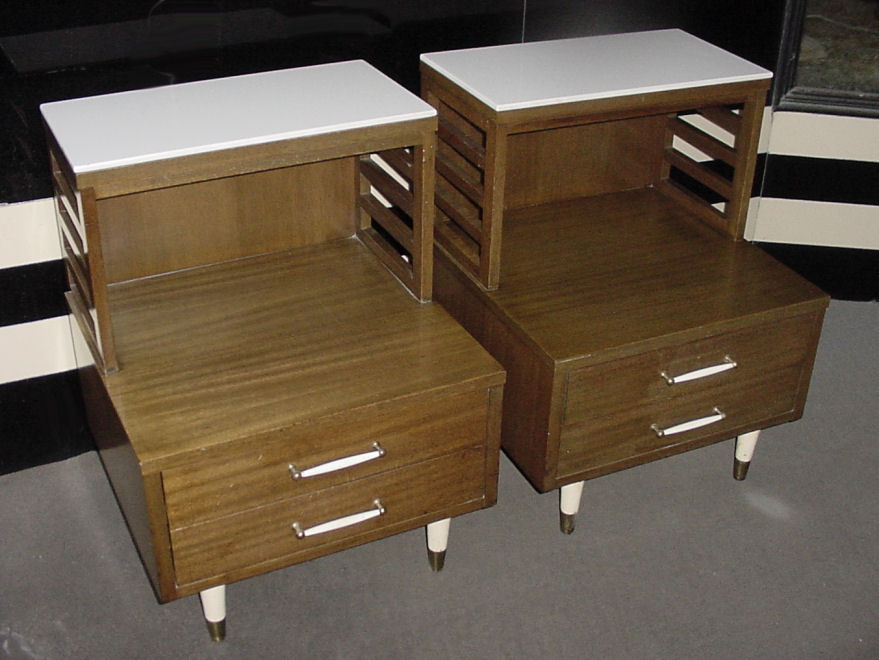 Pair Of R Way Nightstands