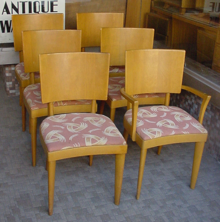 Click for Enlarged Image - Heywood-Wakefield Diningroom Furniture