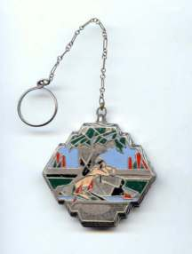 Fisher Indian Maiden Deco Compact