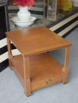 Baker End Table with Drawer