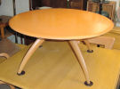Revolving Round Cocktail Table: #M1576G, circa 1956-61