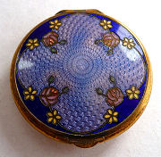 Champleve Enamel Guilloche Compact