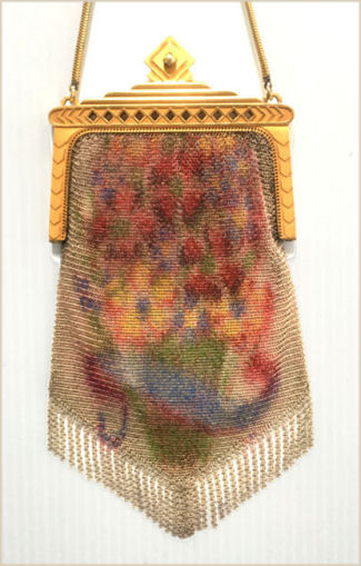 Whiting & Davis Dresden Mesh Purse