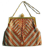 Whiting and Davis Poiret Mesh Purse