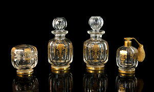 Baccarat Empire Vanity Set