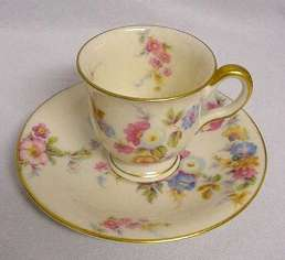 Castleton China Demitasse Cup and Saucer