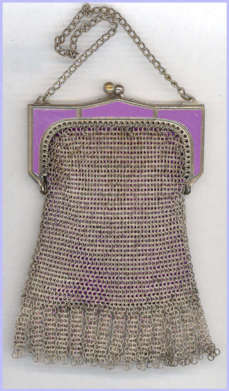 Whiting and Davis Child's Mesh Purse