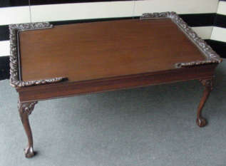 Mahogany Clawfoot Table
