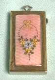 Enamel Guilloche Stamp Holder