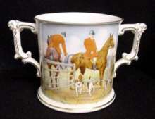 Royal Crown Derby Loving Cup