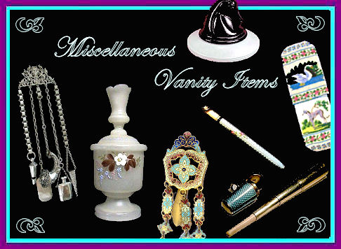 Miscellaneous Vanity Items