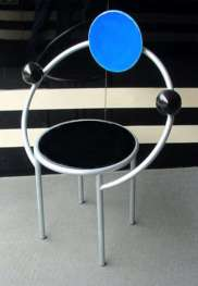 Memphis First Chair by Michele De Lucchi