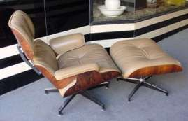 Eames 670 Rosewood Lounge Chair and Ottoman