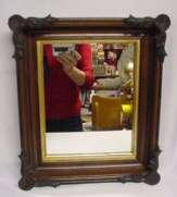 Victorian Walnut Mirror