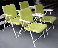 Russel Wright Chairs - Click for Larger Image