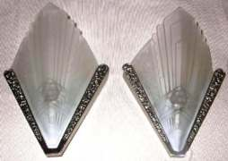 French Deco Sconces