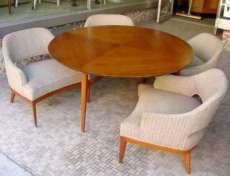 Erwin Lambeth Table and Chairs