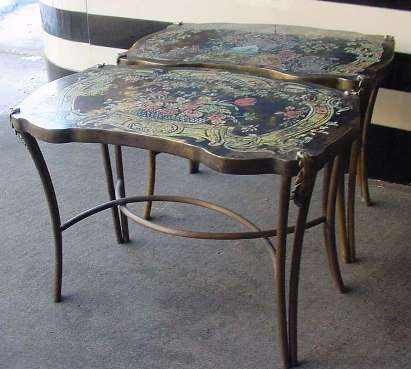 Pair of Laverne Tables - Click for Larger Image