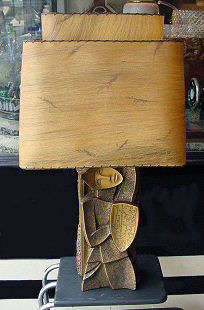 Art Moderne Figural Lamp by FAIP