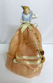 Porcelain Half Doll Accessory