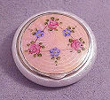 Bliss Brothers Enamel Guilloche Compact