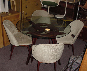 Adrian Pearsall Table and Chairs