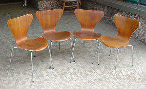 Arne Jacobsen Chair - Click for Larger Image