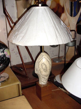 20th Century Marble Lamp