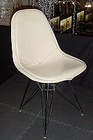 Eames for Herman Miller Wire Chair with Eiffel Tower Base and Full Pad