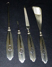 Sterling Silver Manicure Set